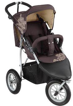knorr-baby 883960 Joggy S - Passeggino sportivo a 3 ruote, colore: Cioccolato/beige