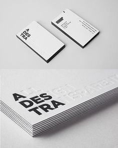 Letterpress Business Card For Personal Branding  Business Cards