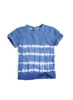 Pumpkin Patch - tees - tie dyed short sleeve tee - S3TB11103 - patriot blue - 12-18m to 5