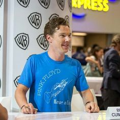 Ben at Comiccon for The Hobbit