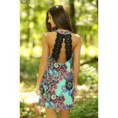 Twisted Thoughts Dress-Mint - $44.00