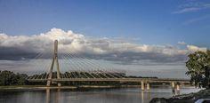 Widok na Most Świętokrzyski / View at the Swietokrzyski Bridge