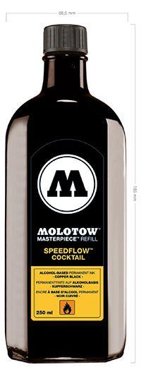 Molotow Masterpiece Refill Speedflow Cocktail 250 ml