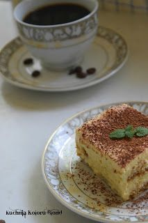 Kuchnia Koloru Blond: Tiramisu Tiramisu, Blond, French Toast, Breakfast, Morning Coffee, Tiramisu Cake