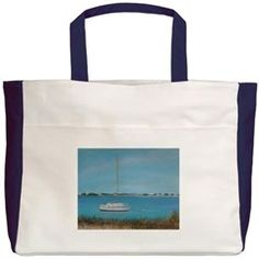 INLET DRIVE VIEW Beach Tote