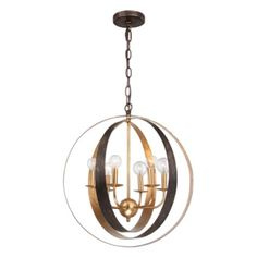 - possibility for the island...bedroom?  it is just too pretty with two colors Lanson Chandelier from Z Gallerie