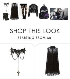 """Chris Motionless"" by alexisrenefuentes on Polyvore featuring Charlotte Russe, Dolce&Gabbana and Burberry"