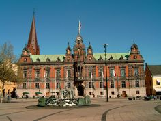 Malmo, Sweden  This is where my grandma was born and raised.  Very lucky to have gone there.