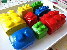 Lego Cake for Birthday Party