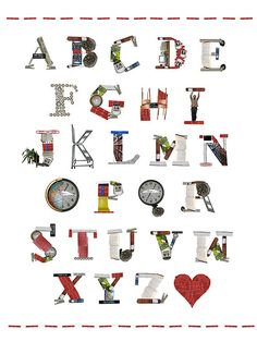 Library font by Katie Daisy. Creative Typography, Typography Logo, Typography Design, Zentangle, Alpha Art, Abc Poster, Library Art, Alphabet And Numbers, Alphabet Letters