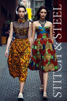 Love of fashion in Africa