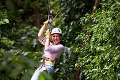 Whoo-hoo- Zip Lines! St. Lucia Excursions, Tours & Trips, Historic Sites: Sandals Grande St. Lucian Resort