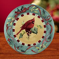Christmas dishes by Lenox would be great for a friend or neighbor tea...these have always been a favorite of mine...or to place cookies on to give to a friend at the end of the tea...