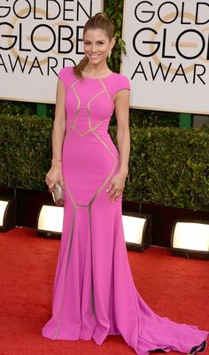 Golden Globes 2014: Maria Menounos on the Red Carpet - Reel Life With Jane  #redcarpetfaves2014