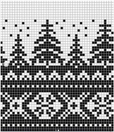 Der Neuen 10 : Jacquard Hat Colorwork Knit auf Ins Fair Isle Knitting Patterns, Knitting Machine Patterns, Christmas Knitting Patterns, Knitting Charts, Knitting Stitches, Hand Knitting, Finger Knitting, Vintage Knitting, Motif Fair Isle