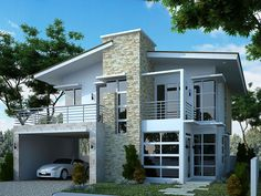 modern 2 story house designs google search minimalist - Minimalistic House Design