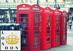 London telephones | Travel photography di TheItalianWanderer su Etsy