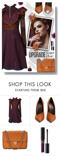 """""""Untitled #725"""" by beautifulplace ❤ liked on Polyvore featuring Versace, Balmain, Chanel, MAKE UP FOR EVER and Christian Dior"""
