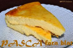 Pasca fara blat Easter Pie, Dukan Diet, Cornbread, Low Calories, Ethnic Recipes, Food, Hoods, Meals, Corn Bread
