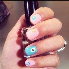 Wonderful spring nails!