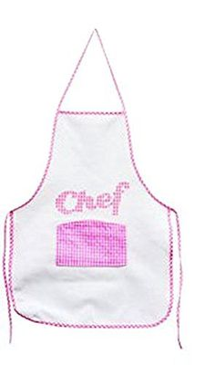 Give all your little helpers their very own apron! Kids will love the colorful 'chef' designs that feature a center pocket while adults love that they keep clothes clean. Great for gardening baking...