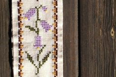 Danish Vintage Embroidery Wall Hanging Handmade Tapestry