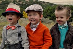 Boys are the best!  And let them rock a bow tie! Super adorable!  What to wear to a photo session.