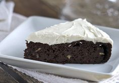 Chocolate Beetroot Cake with Maple Cream Cheese Frosting #BeetTheOdds