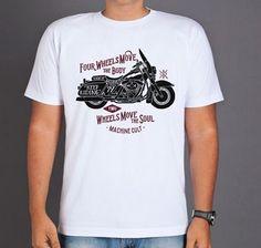 Camiseta Moto Harley Davidson - Machine Cult | Roupas e acessórios de carro e moto