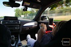 Un giro in safety car all'Autodromo Ferrari di #Imola