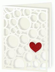 Silhouette Online Store - View Design #54121: card valentine bubbles of love