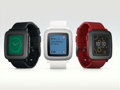 Pebble Time • Pebble Technology - Color e-paper smartwatch with up to 7 days of battery and a new timeline interface.