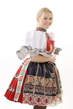 International Clothing, Folk Costume, Costumes For Women, Beautiful Patterns, Girly Girl, Traditional Outfits, Womens Fashion, Fashion Trends, Czech Republic