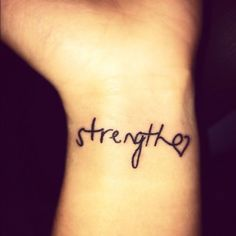 40 Charming One Word Tattoo Examples - Sortra