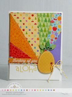 Card: Aloha Card by Sherry Cartwright
