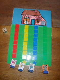 Indoor Activities For Kids, Preschool Activities, Kindergarten Centers, Three Little Pigs, Therapy Activities, Nursery Rhymes, Early Childhood, Art For Kids, 3 D
