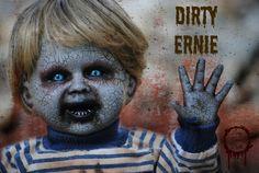 DIRTY ERNIE by LongGoneDolls on Etsy