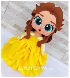 Princess Peach, Disney Princess, Disney Characters, Fictional Characters, Cartonnage, Feltro, Hand Crafts, Beauty And The Beast, Princesses