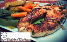 IO-HEALTHY KITCHEN: Salmão grelhado em molho especial
