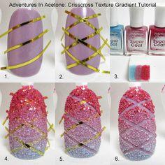 Tutorial Tuesday: Crisscross Texture Gradient!