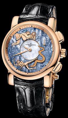 6116-103/P0-P2 - Hourstriker - Exceptional - Welcome to the Ulysse Nardin collection 6116-103/Po-P2 #UlysseNardin #WatchConnection #swissmade #MensFashion #luxury #Timepiece #Orangecounty #love #PinOfTheDay #LeLocle #Hourstriker