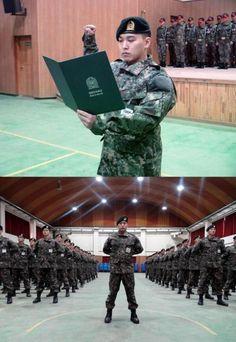 Sungmin (Super Junior) à l'armée - avril 2015 (2)