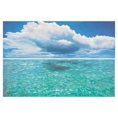 Bring seaside-chic style to your living room or den with this canvas print, showcasing an ocean motif for eye-catching appeal.  Prod...