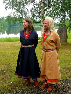 Sami girls by overthemoon, via Flickr