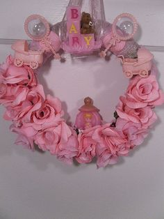Another great idea for a baby shower.  Pink or blue!