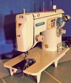 You've seen Morse sewing machines and maybe even see a Fotomatic or two.  Check out this one.  It's a Morse 4100 Fotomatic.