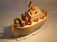 Noah´s ark II - wooden puzzle toy