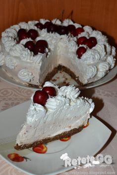 Retete gustoase si garnisite: Cheesecake cu cirese