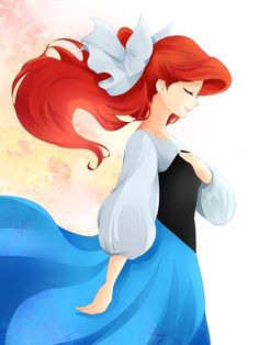 Ariel from Disney's The Little Mermaid Goth Disney, Ariel Disney, Disney Dream, Princesa Ariel Da Disney, Film Disney, Disney Girls, Disney Magic, Disney Movies, Ariel Ariel