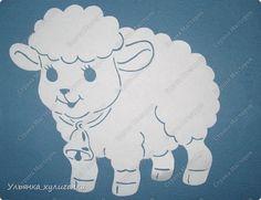 Вытынанки овечки | Страна Мастеров